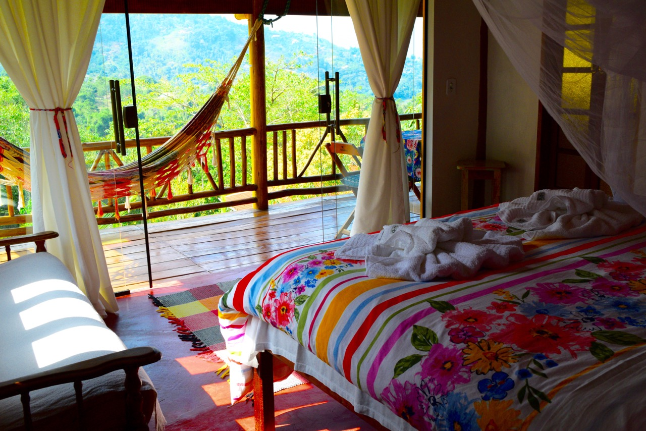 Chalet Amarelo - the room