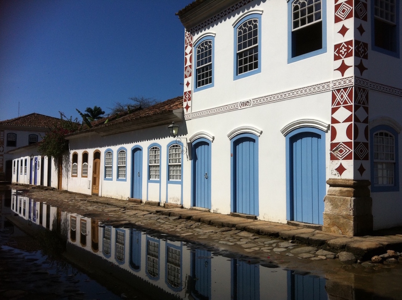 Paraty colonial flair